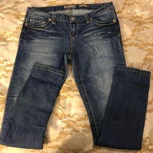 YMI Mid Wash Skinny Jean 13
